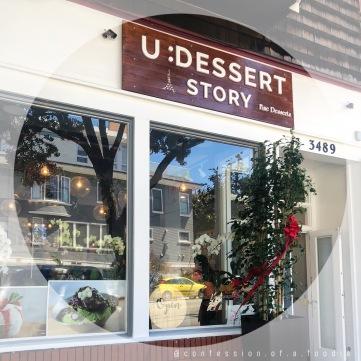 U Dessert Story Store Front