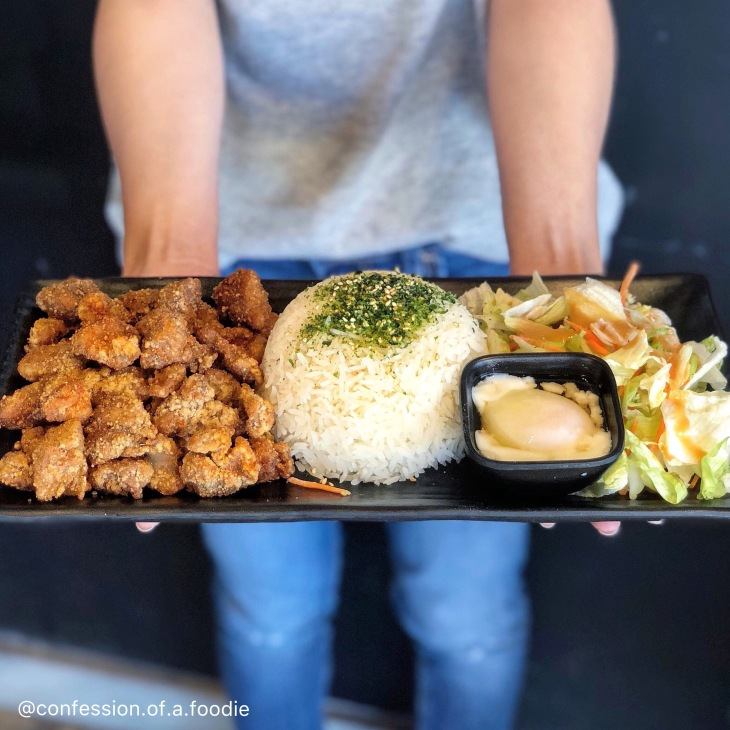 Factory Tea Bar Popcorn Chicken Bento