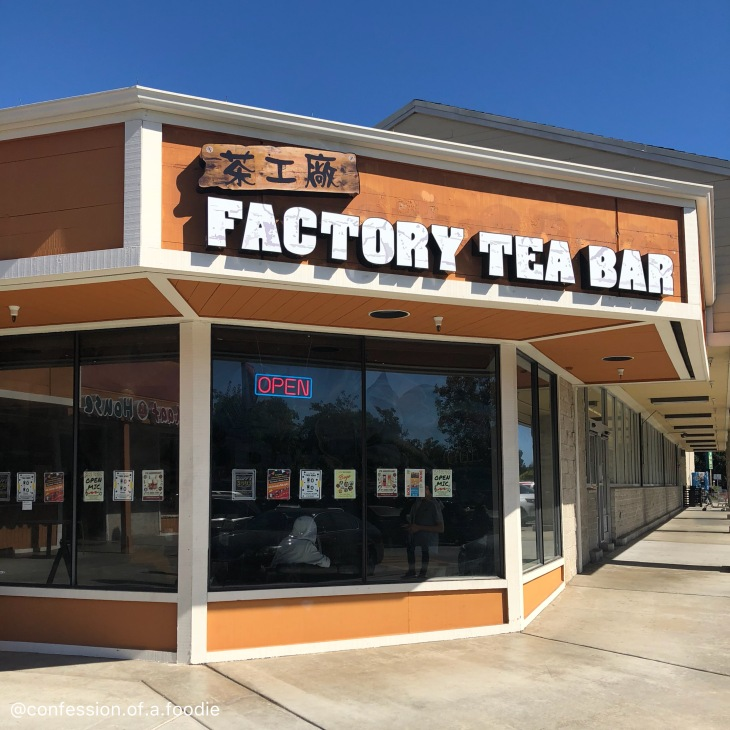 Factory Tea Bar Storefront