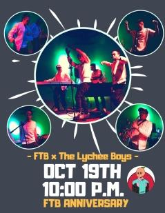The Lychee Boys 10/19/18